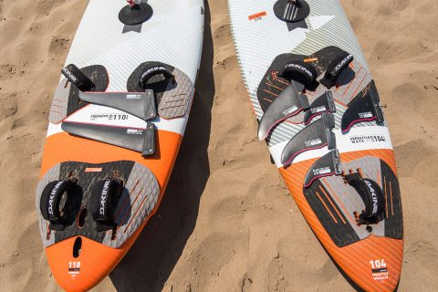Increase your board's range by having 2 – 3 fins for it and changing them accordingly. Photo by Eye Sea You.