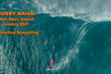 ROBBY NAISH AT JAWS MAUI HAWAII 2021