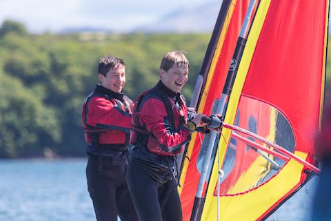 Plas Menai Windsurfing