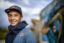 Lennart Neubauer poses for a portrait in Naxos island, Greece on December 15, 2020. // Alex Grymanis / Red Bull Content Pool  // SI202012180015 // Usage for editorial use only //
