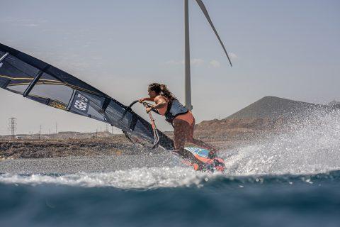 Lena action in Tenerife
