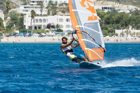 Windsurfing in Kefalos Photo: Florian Ragossnig