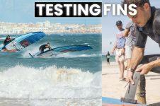 NICO PRIEN: TESTING FINS IN 30 KNOTS