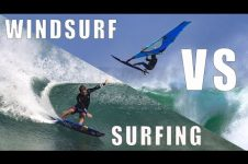 KAI LENNY: WINDSURFING VS SURFING